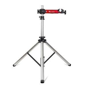 Adjustable Bike Repair Stand Aluminum Alloy 85-145cm Cycling Rack Holder Portabl