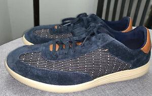 Men's Cole Haan GRAND 0S Crosscourt Indigo Blue Sneakers Sz 9.5 M