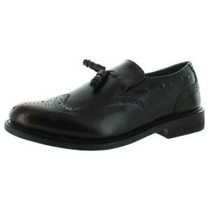 Executive Imperials Mens Red Wingtip Shoes 10.5 Extra Wide (EEE)  BHFO 5271