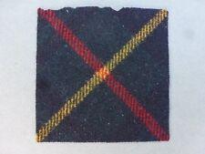 Royal Scots badge backing