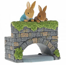 New For 2020 Beatrix PotterPeter & Benjamin Bunny on the Bridge Figurine A29834