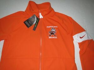 Nike Women's Cleveland Browns NFL Full Zip Track Jacket Size Small MSRP: $85.00