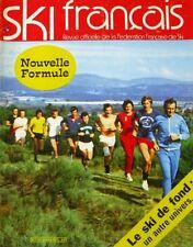 Ski Français n°215 - 1974 - Le Ski de Fond - La Plagne - L'Auvergne - Canada