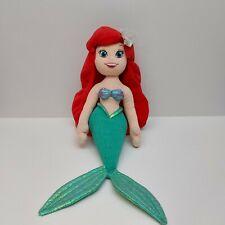 "Disney Store Ariel Plush Doll 19"" The Little Mermaid Soft Toy"