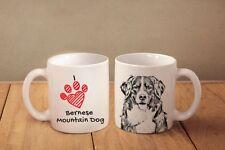 "Bernese Mountain Dog - ceramic cup, mug ""I love"", Ca"