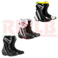 Stivali Moto Racing Sportivo Alpinestars SUPERTECH R Boot con Protezioni