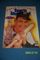 1990 Sport Illustrated BOSTON RED SOX Ted WILLIAMS No Label 1950 vs 1990 No/Lab