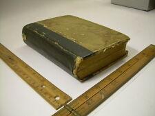 Heinrich Muller : 365 Betragtninger DANISH 1866 antique book Lutheran Theology
