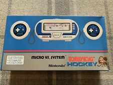 Nuevo Nintendo Donkey Kong Hockey Nuevo Micro vs sistema HK-303 juego Watch 1984