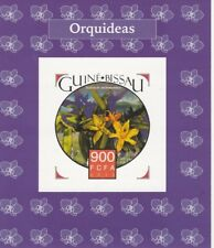 Guinea-Bissau 6953 - 2015  ORCHIDS #1  imperf deluxe shee unmounted mint