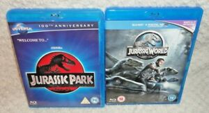 Jurassic Park & World (BLU RAYS, 2-Disc)