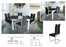 Living Room Metal Table & Chair Sets with 5 Pieces
