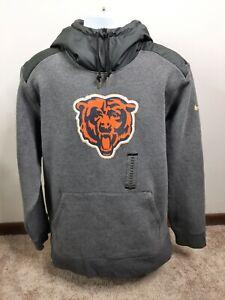 Nike Chicago Bears Dri Fit Hoodie Sweatshirt XL NFL Football XXL 2X New NWT