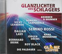 GLANZLICHTER des SCHLAGERS + CD + Deutsche Schlager + 16 Hits + NEU + Kult +