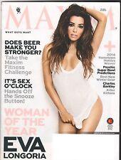 Maxim Magazine Jan 2014 Maxim Eva Longoria Woman of the Year Charles Barkley