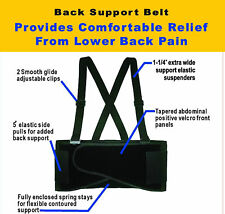 NEW !SUPPORT BELT BACK WAIST BRACE LIFT HEAVY WEIGHT S-6XL