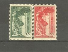"FRANCE STAMP TIMBRE 354/55 "" VICTOIRE SAMOTHRACE LOUVRE 1937 "" NEUFS xx TTB H604"