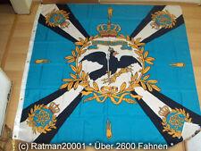 Banderas bandera ondea azul con cruz Prusia premium - 150 x 150 cm