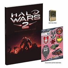 Halo Wars 2 Strategy Collectors Edition Guide Hardback Book NEW & SEALED