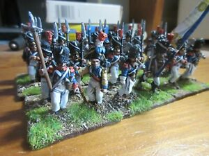 PRO-PAINTED 28MM, FOUNDRY METAL GRENADIERS D'OUDINOT BATTALION x 24,EXCELLENT