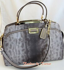 NWT COACH 30237 Madison EMBOSSED LIZARD LEATHER SATCHEL Hand Bag $758