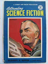 UK Pulp Mag - ASTOUNDING SCIENCE FICTION Oct, 1952