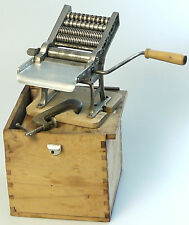 PRL) 1930 MACCHINA PASTA BALILLA RAJON FOOD MACHINERY VINTAGE NO IMPERIA + BOX