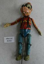 (Lot #1432) Vintage Marx Tin Windup Toy Donald Duck & Goofy Duet Goofy Figure