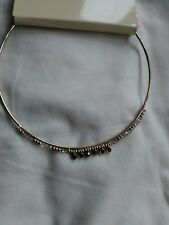 NEW Oasis Gold Tone And Diamente Chocker Necklace