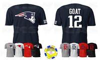 New England Patriots Tom Brady Parody Logo WITH BACK Jersey Tee Shirt Men S-5XL
