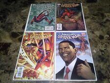 Amazing Spider-Man 580 581 582 583 NM 9.4 Molten Man Obama Variant *