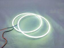 2x Angel Eyes Halo Ring 160mm 12V-24V LED COB White Amber Switchback