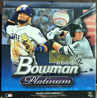2020 Topps Bowman Platinum Baseball Mega Box 1 Auto + 2 Parallels! chrome