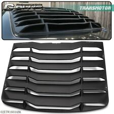 For 2003-2008 NISSAN 350Z Rear Window Louver Cover ABS Matte Black