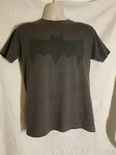 Mens Size Medium 60/40 Cotton Polyester Batman Logo Tee
