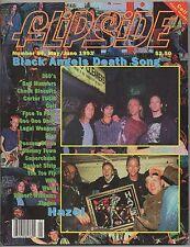 FLIPSIDE Zine #84 1993 Hazel (CELL Flexi) Ween FACE TO FACE Robert Williams PIZZ