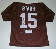ALABAMA Bart Starr signed custom #15 jersey Tristar COA AUTO Autographed Crimson