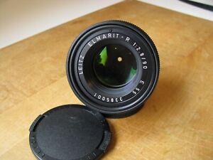 Leica 90mm Elmarit-R f/2.8 Lens 3rd Cam Only R Lens 1986 E55  Germany