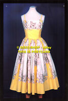 L125073 Horrockses Fashions evening dress. designed by John Tullis. c. 1958. Don
