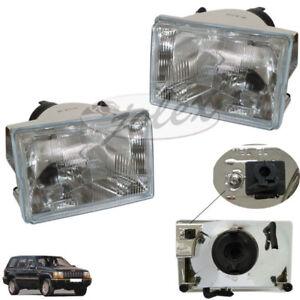 Scheinwerfer rechts+links elektrisch verstellbar Jeep Grand Cherokee ZJ ZG 93-98