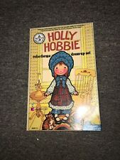 Vintage Holly Hobbie Reproduction Colorforms Classic Re-Stickerable Sticker Set
