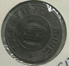 Tulsa Oklahoma OK Tulsa City Lines Inc Transportation Token