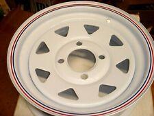 Carlisle Pacer 8 Spoke 12X4 Trailer Wheel Rim FREE SHIPPING