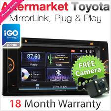Car DVD GPS Player For Toyota Landcruiser Prado Hilux Hiace Stereo USB Radio AT