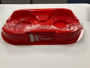 Fire Extinguisher Stand - Universal Fire Point - Red - Double