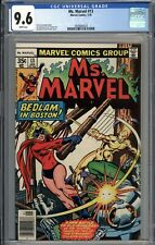 Ms. Marvel #13 CGC 9.6 NM+ WHITE PAGES