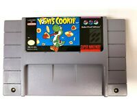 Yoshi's Cookie SUPER NINTENDO SNES Game - Tested - Working - Authentic!