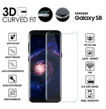 For Samsung Galaxy S8 3D Curved Tempered Glass LCD Screen Protector Clear
