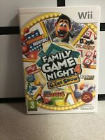 Hasbro Family Game Night 4: The Game Show Edition (Wii) - Game WITH BOOKLET