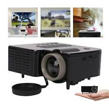 Mini Portable Projector LED HD Micro Mobile Phone Video Home Theater Cinema